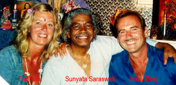 Padmani - Sunyata Saraswati - Swami Nirav Beej - Cobra Breath Initiatie