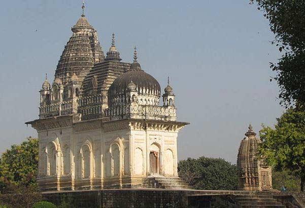 Prachtige Khajuraho tempel