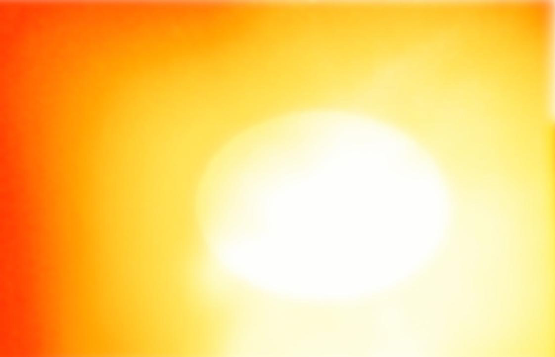 gekleurde oranje-rode extase, seksualiteit, via geel naar het puur centrale licht, de bron, verlichting