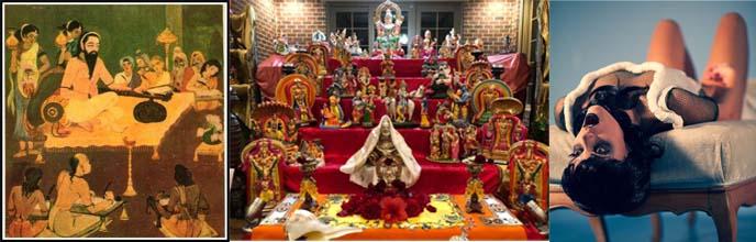 Collage van Klassieke Non-Dualistische Shaiva (Kaula) Tantra naar Neo-Tantra