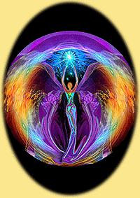 Tantrisch vrouw energie met verbinding naar universum bij de TantraTempel
