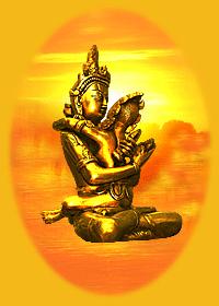 Shiva-Shakti - Buddha met Consort - Boeda met Geliefde Godin